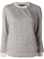 Side zip sweatshirt by Theory at Farfetch