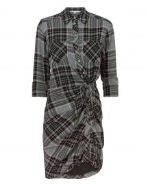 Sierra Plaid Dress by Veronica Beard at Intermix