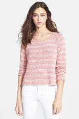 Sierra Stripe Knit Pullover at Nordstrom Rack