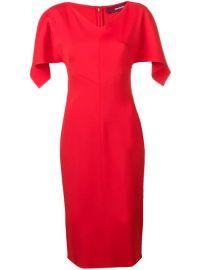 Sies Marjan Drape Sleeve Fitted Dress - Farfetch at Farfetch