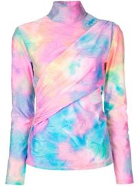 Sies Marjan Tie Dye Wrapped Top - Farfetch at Farfetch