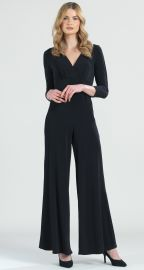 Signature 3/4 Sleeve Jumpsuit at Clara Sunwoo