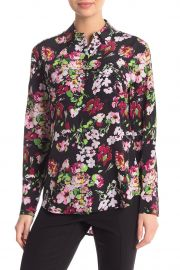 Signature Floral Long Sleeve Top by Equipment at Nordstrom Rack