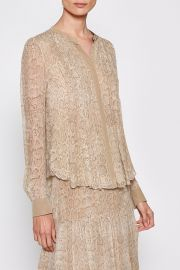 Signature Python Chiffon Blouse by Equipment at Nordstrom Rack