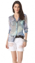 Signature blouse in multi by Equipment at Shophop