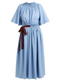 Silba belted midi-dress at Matches