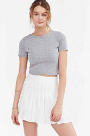 Silence and Noise Crossing Over Cropped Top at Urban Outfitters