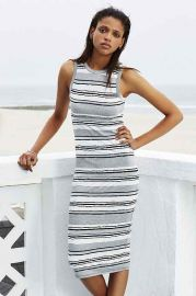 Silence and Noise Late Pass Bodycon Midi Dress at Urban Outfitters
