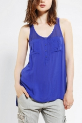 Silence and Noise Military Tank Top at Urban Outfitters