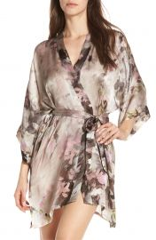 Silk Robe at Nordstrom