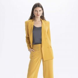 Silk Blazer by The Reset at The Reset