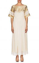 Silk-Blend Crepe Maxi Dress at Barneys Warehouse