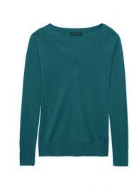 Silk Cashmere Sweater at Banana Republic