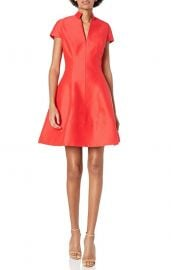 Silk Faille Dress at Amazon