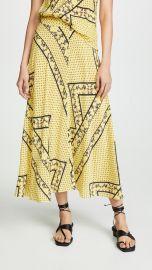 Silk Mix Skirt at Shopbop