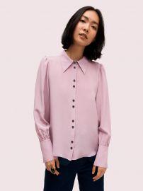 Silk Point Collar Blouse at Kate Spade
