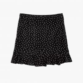 Silk Ruffle Edge Star Scatter Skirt by Madewell at Madewell