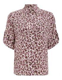 Silk Safari Shirt SILK SAFARI SHIRT at Zimmermann