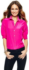 Silk Shirt in Pink at C Wonder
