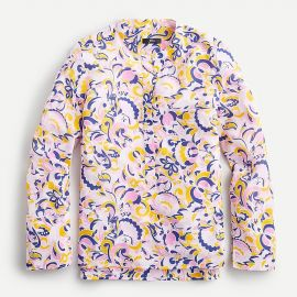 Silk Tunic in Paisley Swirl by J. Crew at J. Crew