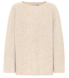 Silk and cashmere sweater at Mytheresa