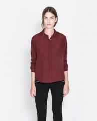 Silk blouse at Zara