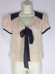 Silk blouse by Diane von Furstenberg at eBay