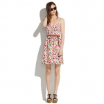 Silk cami dress by Madewell at Madewell