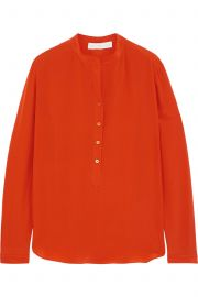 Silk crepe de chine blouse by Stella McCartney at The Outnet