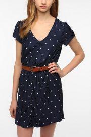 Silky Sabrina Dress at Urban Outfitters