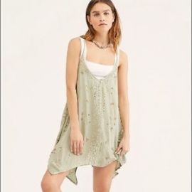 Silver Linings Embellished Slip at Free People
