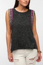 Silver Moon Muscle Tee by Ecote at Urban Outfitters