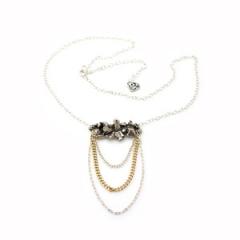 Silver Quartz Necklace at Concrete Polish