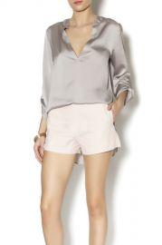 Silver blouse by Evenuel at Shoptiques