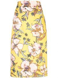 Silvia Tcherassi Mariola Floral Skirt  - Farfetch at Farfetch