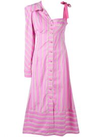 Silvia Tcherassi Striped Asymmetric Shirt Dress  - Farfetch at Farfetch