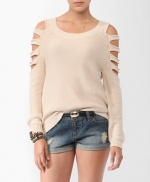 Similar arm cutout sweater from Forever 21 at Forever 21