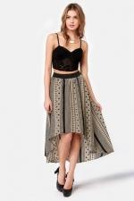 Similar aztec printed skirt at Lulus