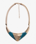 Similar bib style necklace at Forever 21