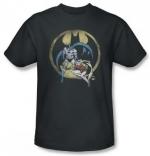 Similar black Batman shirt at Amazon