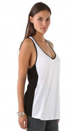 Similar black and white tank top at Shopbop