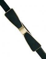 Similar black bow belt at Asos