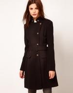 Similar black military style jacket at ASOS at Asos