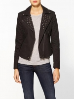Similar black studded jacket at Piperlime