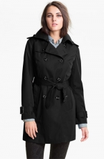 Similar black trench coat at Nordstrom at Nordstrom