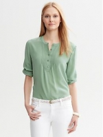 Similar blouse at Banana Republic at Banana Republic