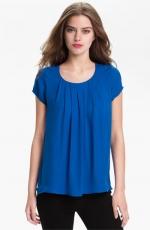 Similar blue blouse at Nordstrom
