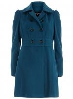 Similar blue coat from Dorothy Perkins at Dorothy Perkins