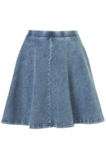 Similar chambray skirt at Topshop at Topshop