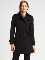 Similar coat by Burberry at Saks Fifth Avenue